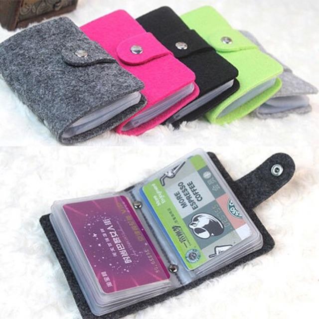 Dompet Kartu Holder Card Wallet Card Holder Model Bludru Tempat Kartu Atm Card Holder Karet Tempat Kartu Atm Lazada Indonesia