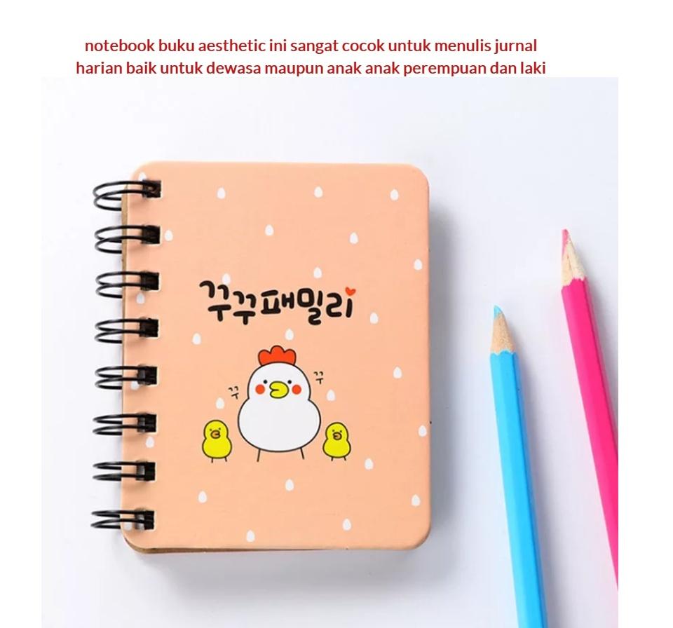 Bisa Cod Notebook Buku Aesthetic Diary Mini Murah Lazada Indonesia