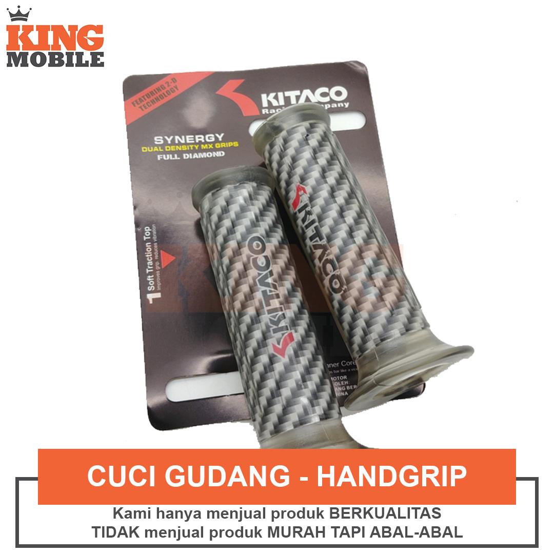 Handgrip Motor Kitaco Model Carbon Hand Grip Karet Gas Untuk Semua Jenis Motor Lazada Indonesia