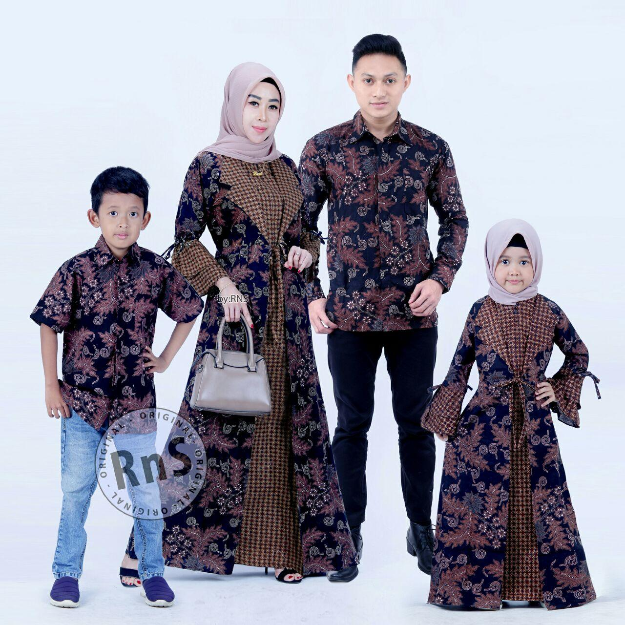 Batik Couple Model Gamis (12 BAJU) Jazz Blazer anak cowok dan cewek Umur 12 -  12 tahun (Ukuran Dikasih Tau lewat Chat Seller)umur KUALITAS TERBAIK