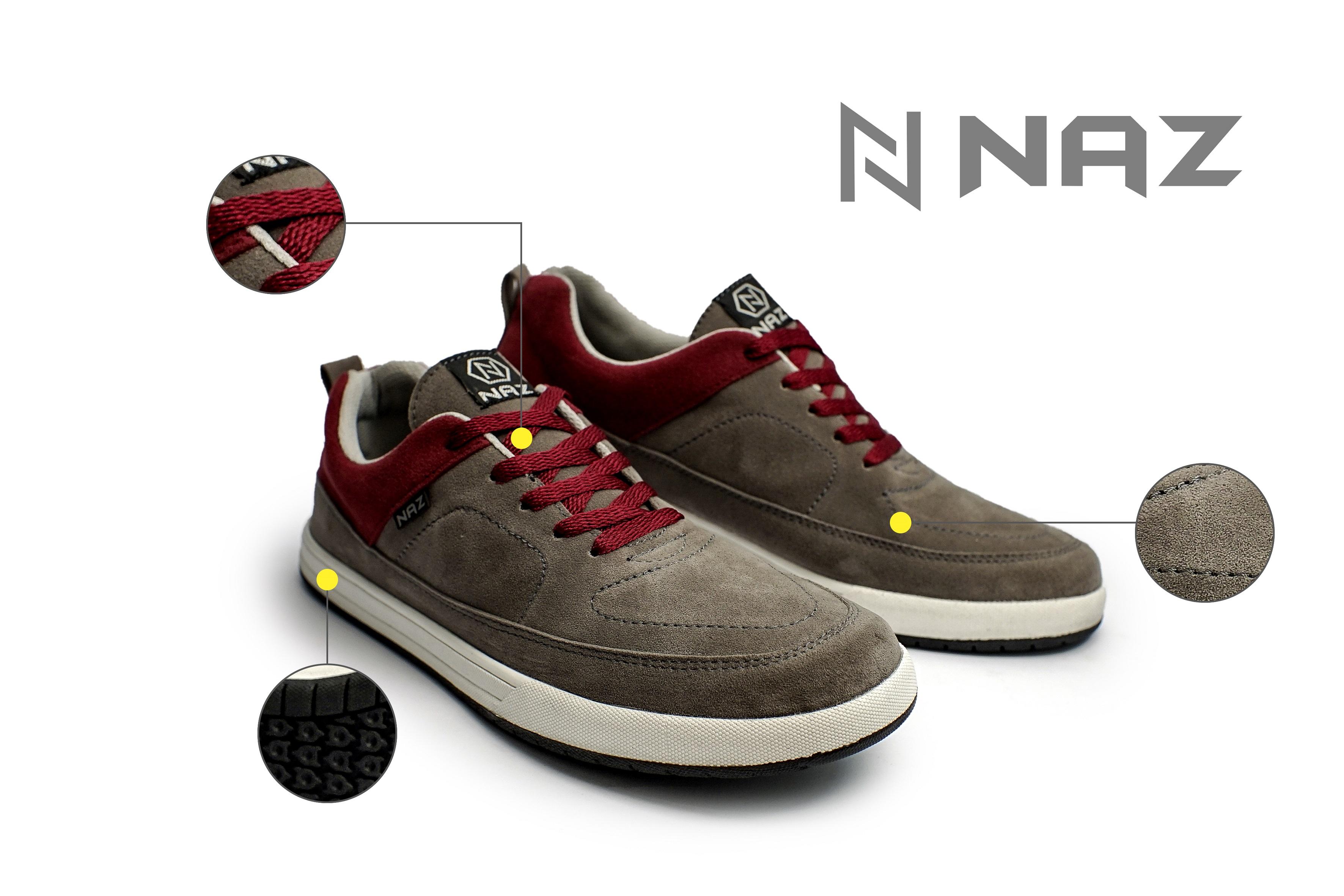 Sapatu Naz Shoes Sepatu 2020 Sepatu Lokal Brand Naz Snd 378 Asli