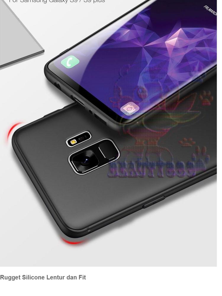 Lize Case Samsung Galaxy J6 2018 Rubber Silicone Anti Glare Skin Back Case / Silikon Samsung
