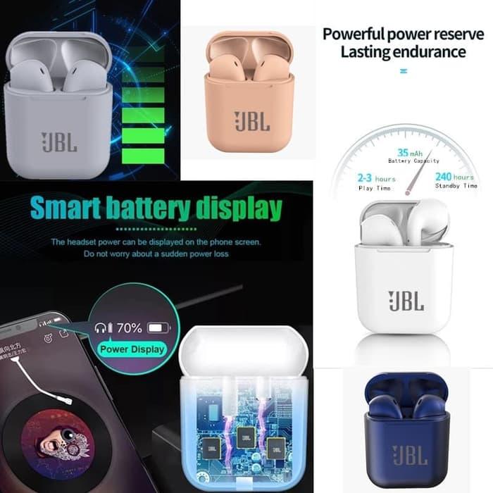 Inpods I12 Tws Earphone Bluetooth Wireless Airpods Inpods 12 Lazada Indonesia