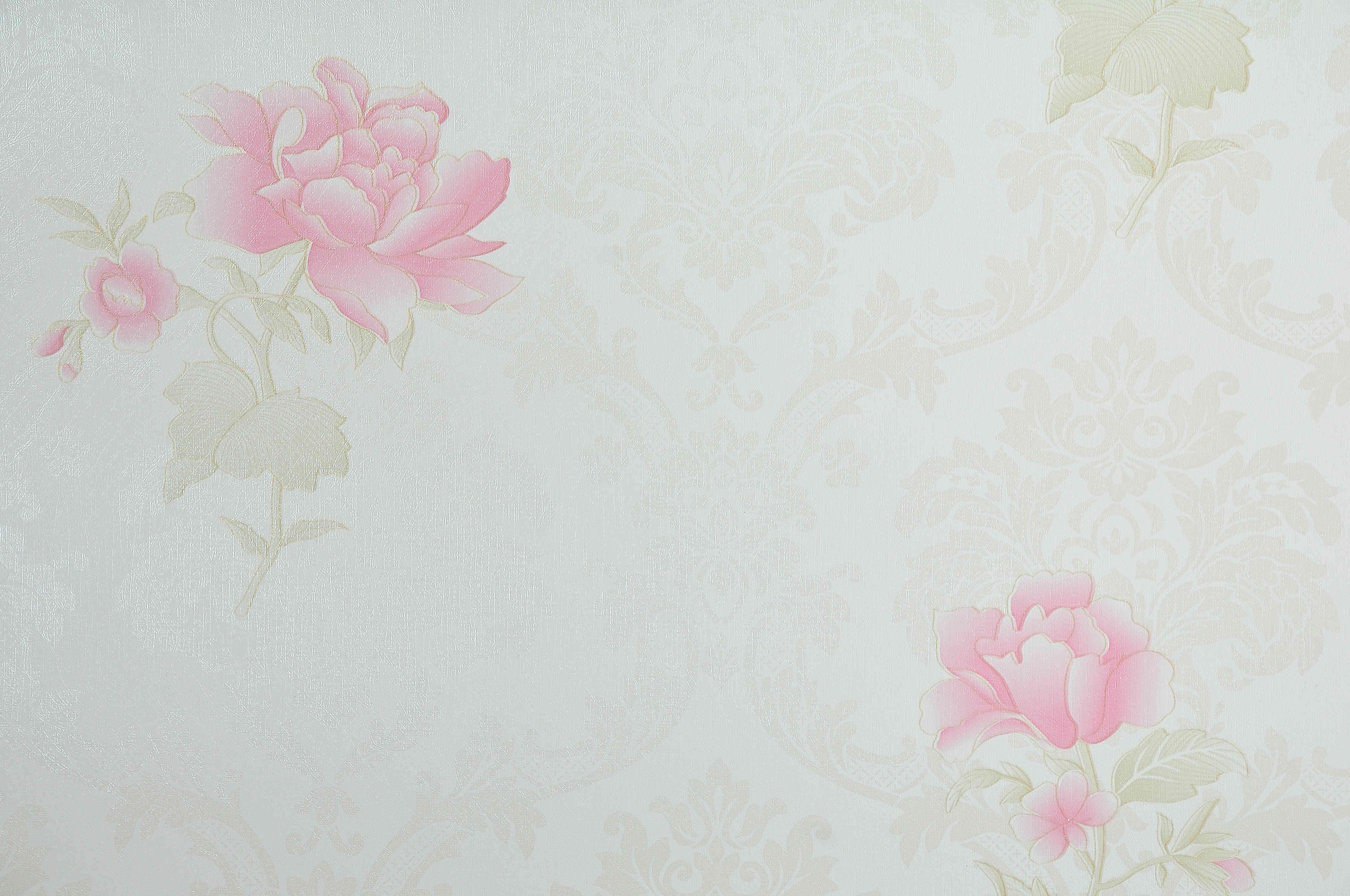 Wallpaper Stiker Motif Bunga Mawar 2