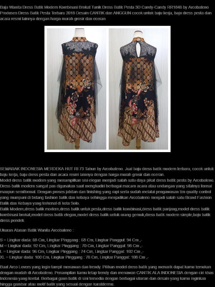 Daftar Harga Baju Batik Resmi Modern Terbaru - Batik Indonesia 99aa742a87