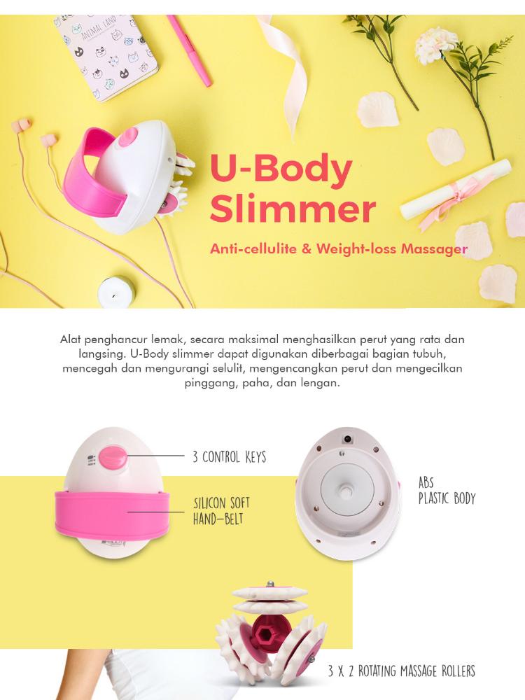Jaco Alat Pelangsing & Penghancur Lemak - U-Body Slimmer - Beauty