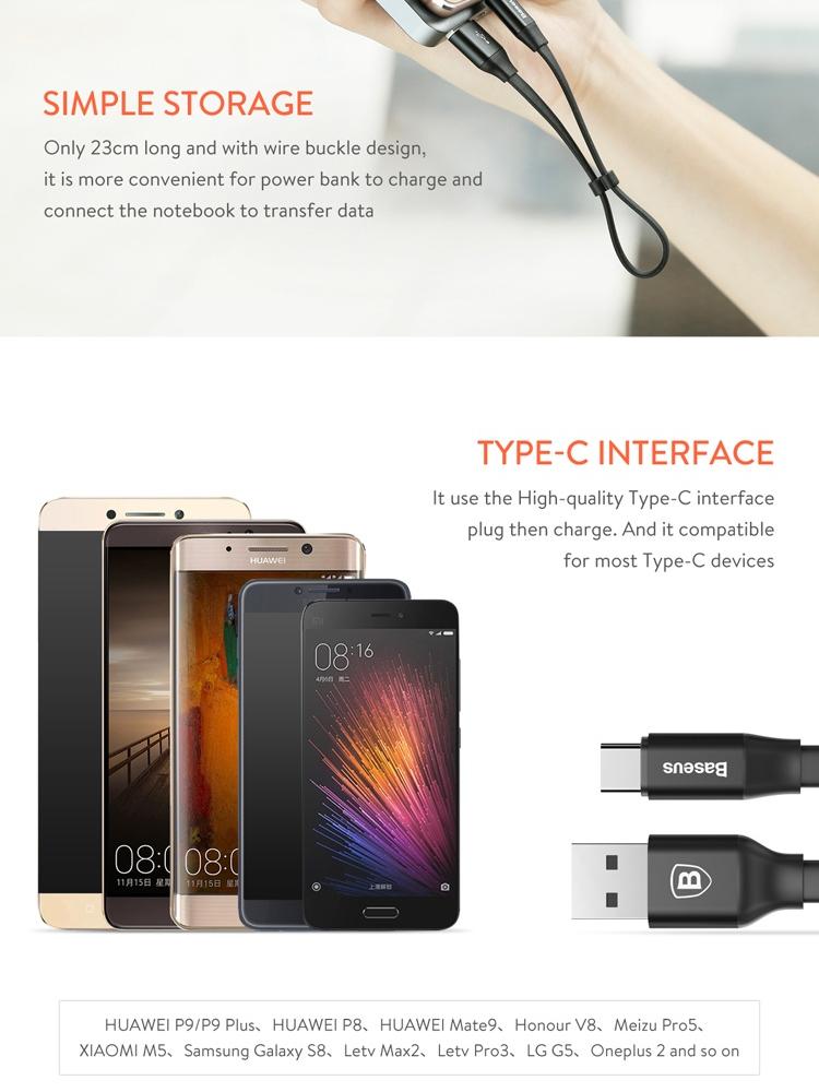 Tipe-C USB Data Kabel Pengisi Daya Cepat Pengisian Anda Smartphone Kabel. Source ·
