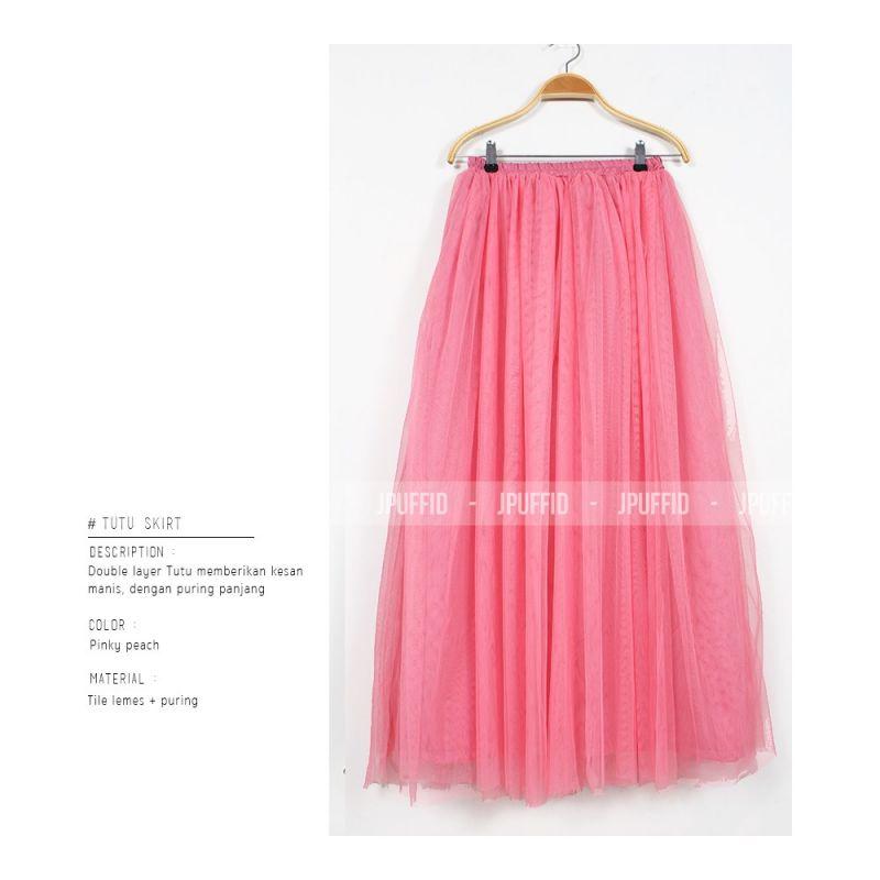 Tutu Skirt Skirts Rok Wanita