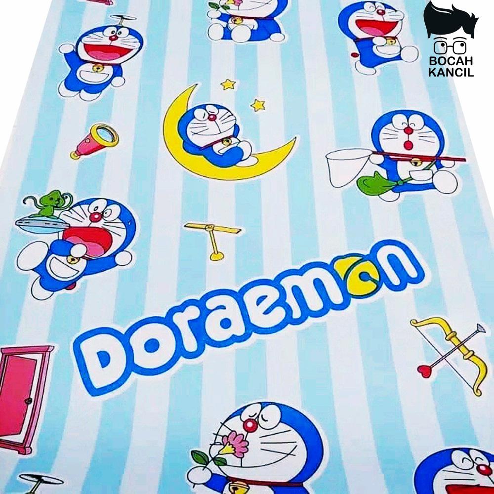 Bocah Kancil Wallpaper Stiker Dinding Motif Dan Karakter Doraemon