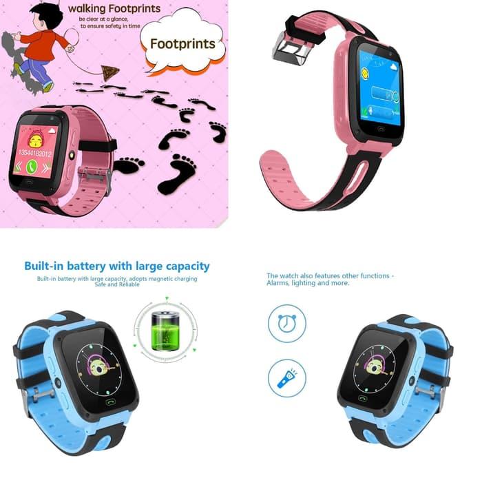 Gps Jam Tangan Smartwatch Hp Jam Tangan Anak Dengan Gps Tracker