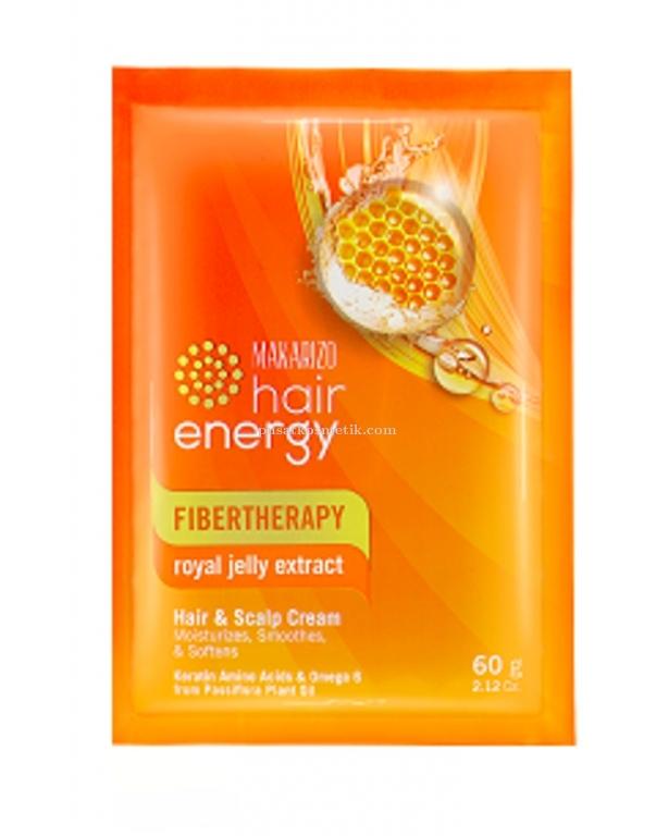 Makarizo Hair Energy Creambath Fibertherapy Royal Jelly 60gr Makarizo Masker Rambut Makarizo Creambath Rambut Makarizo Hair Mask Creambath Rambut Makarizo Makarizo Hair Energy Creambath Hair