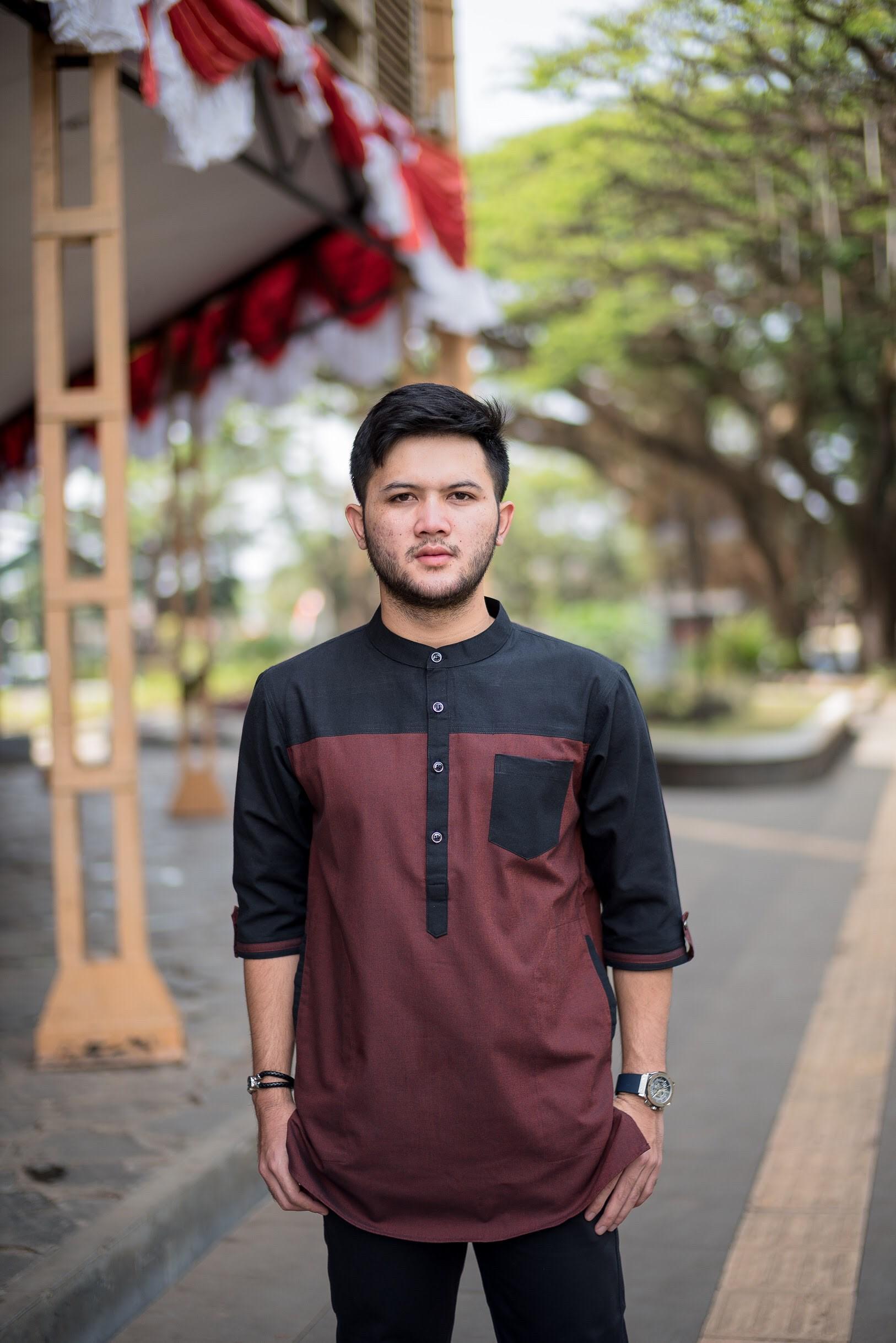 COD AJA - ORIGINAL PRODUK FOUR KDL Baju Muslim Koko Pakistan Qurta Pria  Terbaru 8 Model Semi 8/8 / Baju Shalat Laki - Laki / Gamis Shalat Pria /