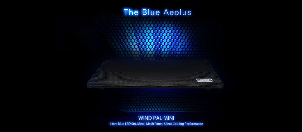 Detail produk dari Deep Cool Alas Pendingin Laptop - Deep Cool Coolpad WIND PAL MINI -