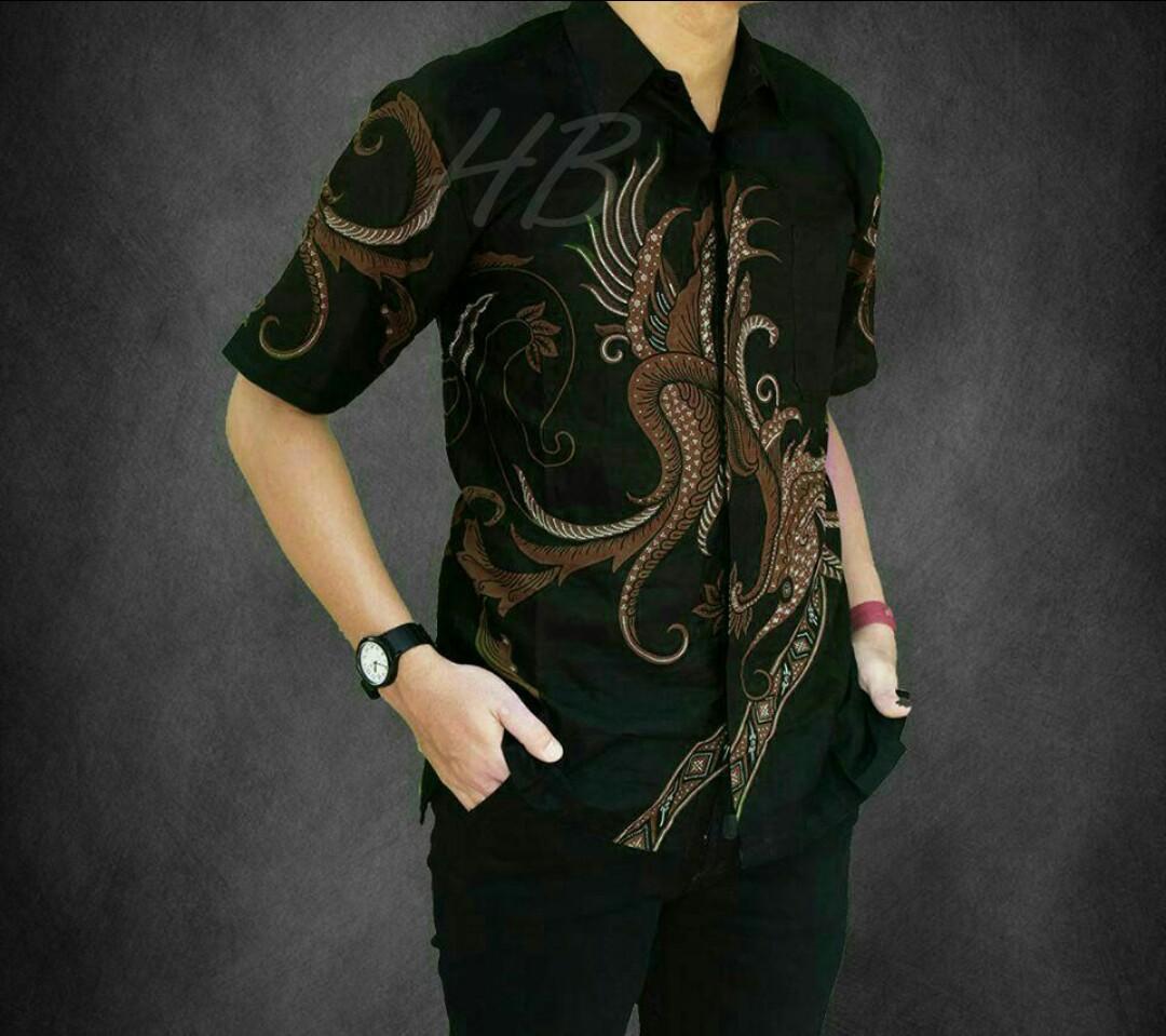 Model Kemeja Batik Casual Baju Batik Casual Modern Terbaru Baju Batik Pria Lung Boss Batik