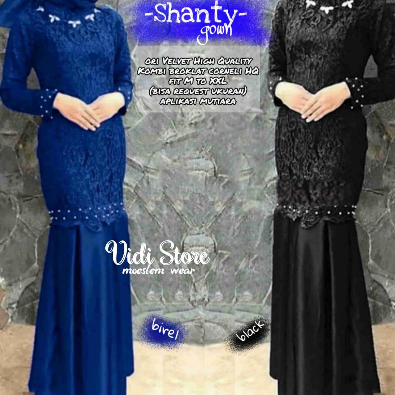 Ashanty Gown Dress Bracode Premium Import  Baju Lebaran 11 Model Baju  Gamis Terbaru Lebaran 11Model Long Dress Untuk Orang Gemuk Baju Muslim