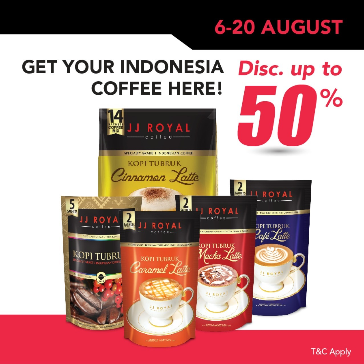 JJ Royal Coffee Toraja Arabica Ground (Kopi Bubuk) 200gr