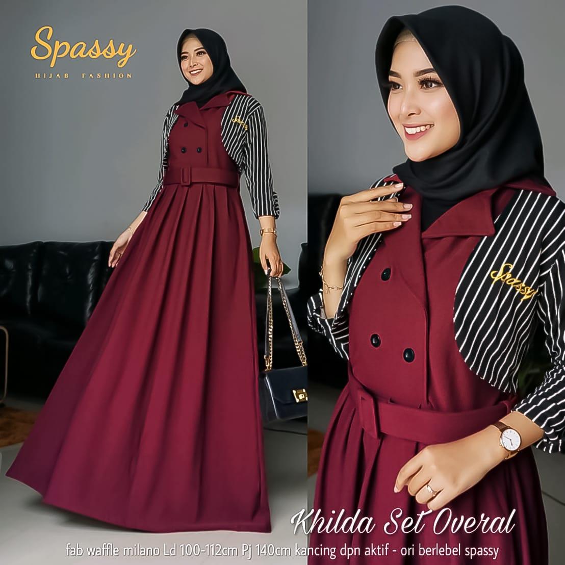 Gamis Simple Model Baju Gamis Terbaru 2020 Wanita Berhijab Remaja Hijabfest