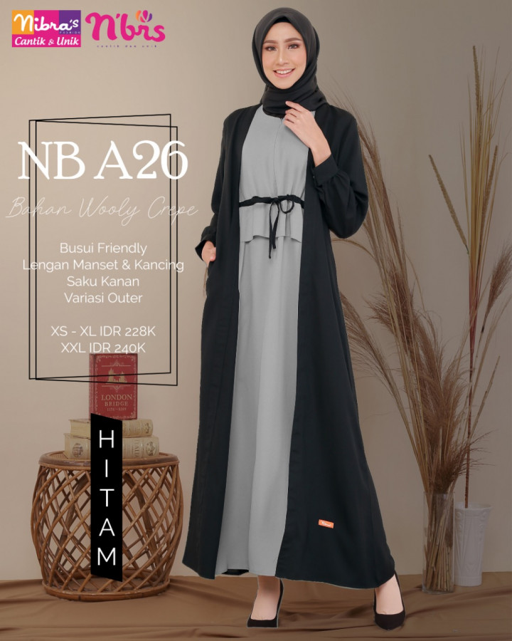 Gamis Nibras Nb A26 Ready 3 Warna Gamis Nibras Terbaru 2020 Baju Gamis Nibras Remaja Terbaru 2020 Gamis Harga 200 Lazada Indonesia