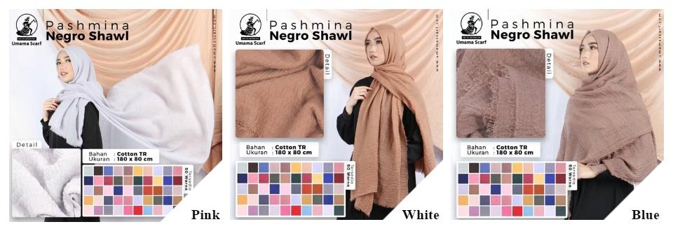Hijab Phasmina Negro Shawl Free Ciput Bandana Lazada Indonesia