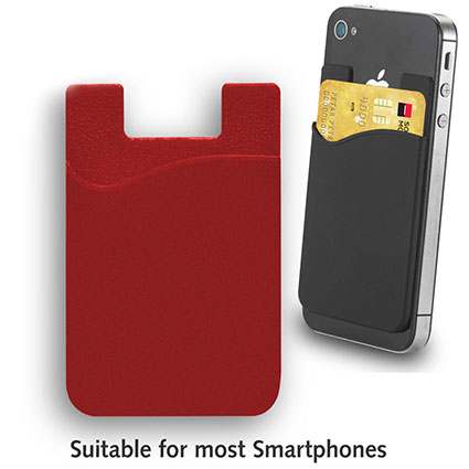 Cell Phone Card Holder >> Miles Sticky Card Back Cover Card Holder Case Pouch Cell Phone Colorful