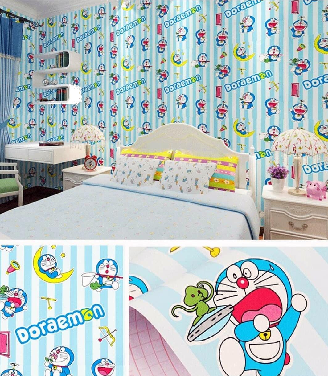 Cod Bayar Ditempat Wallpaper Stiker Dinding Size 45cm X 10m