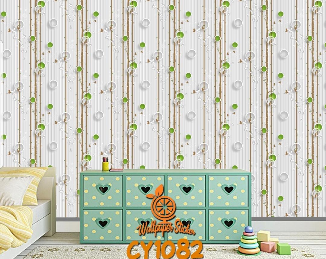 NAP Wallpaper Stiker Dinding Motif Dan Karakter Premium Matte Higth Quality Size 45cm X 10meter CY1082 CY1083 CY1084