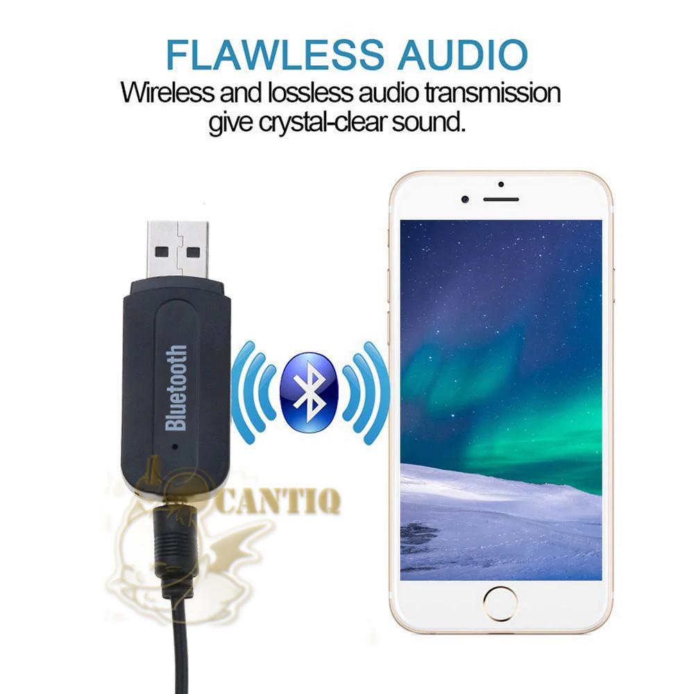 Bluetooth Audio Music Receiver Berfungsi merubah Speaker Aktif biasa menjadi speaker wireless bluetooth. dan bisa juga untuk mobil yang mempunyai lubang ...