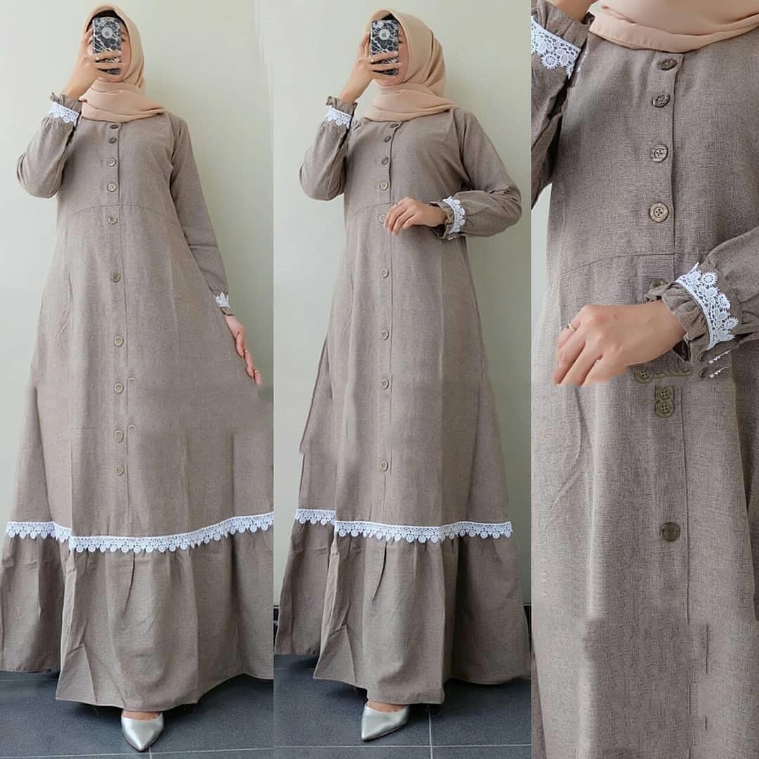 Gaun pesta terbaru 8 / Model baju Gamis lebaran 8 / Longdress wanita  muslimah terbaru / Baju gamis wanita terbaru 8/ Gamis terbaru 8