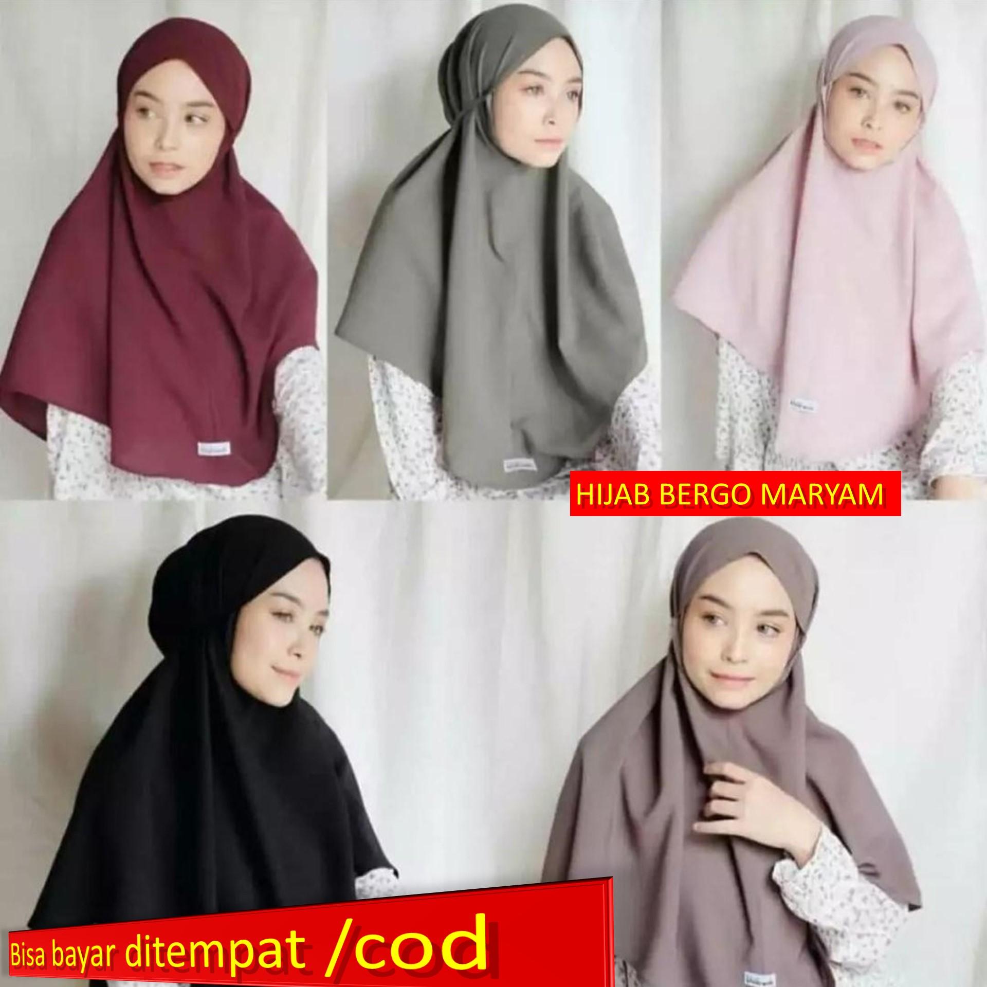 Hijab Bergo Maryam Hijab Cantik Hijab Santai Hijb Terlaris Hijab Terbaru Hijab Terlaris Hijab Cantik Hijab Rumahan Lazada Indonesia
