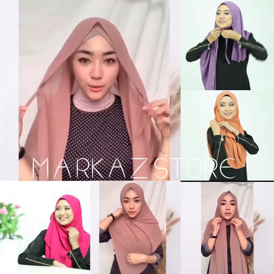 Tutorial Hijab Cara Memakai Kerudung Pashmina Tali
