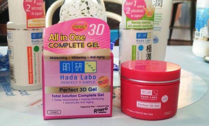 Review Hada Labo 3d Gel Untuk Kulit Sensitif Berjerawat
