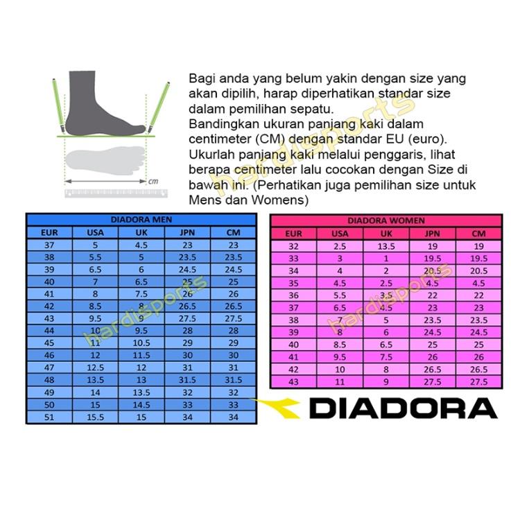 Sepatu Running Sneaker Anak Diadora Gemma JR (G) DIACX80110BL - Black Pink 27506c4dd3