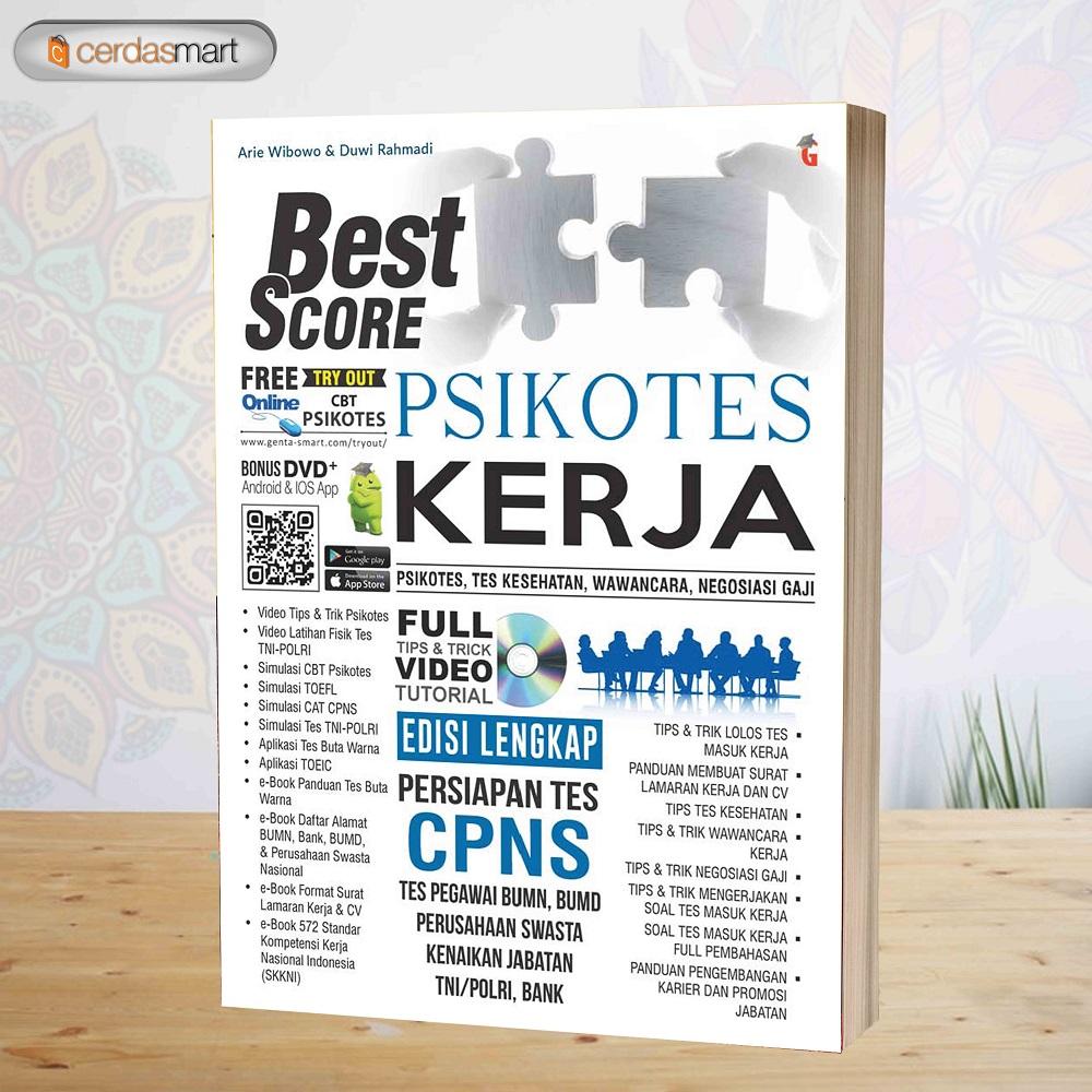 Buku Tes Psikotes Best Score Psikotes Kerja Edisi Lengkap Untuk