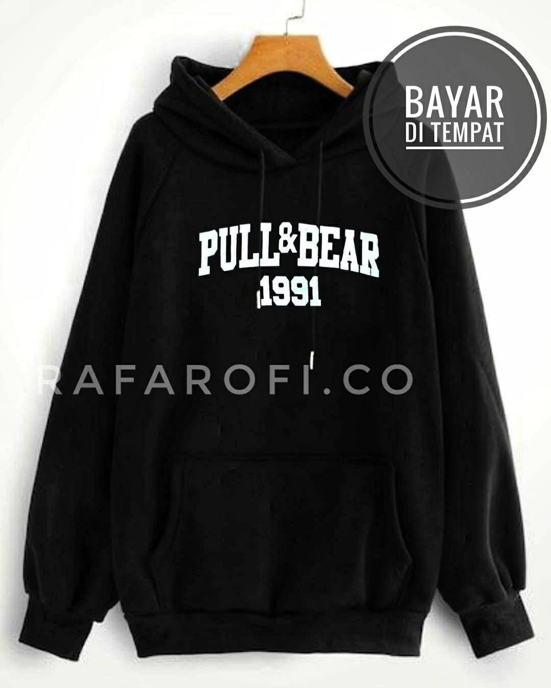 Detail produk dari Jaket Pria Sweater Hoodie Pull Bear /Jaket Korea Jaket Suiter - Jaket Sweater Pria