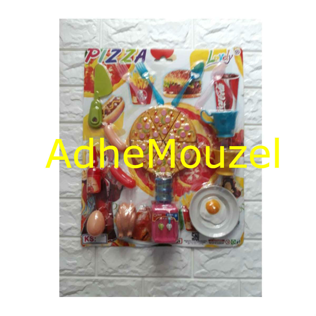Bisa Cod Pizza Food Set Mainan Pizza Set Mainan Anak Lazada Indonesia