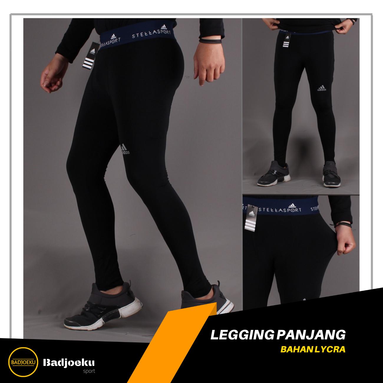 Badjoeku Celana Olahraga Legging Panjang Pria Celana Sport Cowok Cowo Celana Leging Running Gym Fitnes Celana Daleman Pria Celana Lejing Legging Running Lari Lazada Indonesia