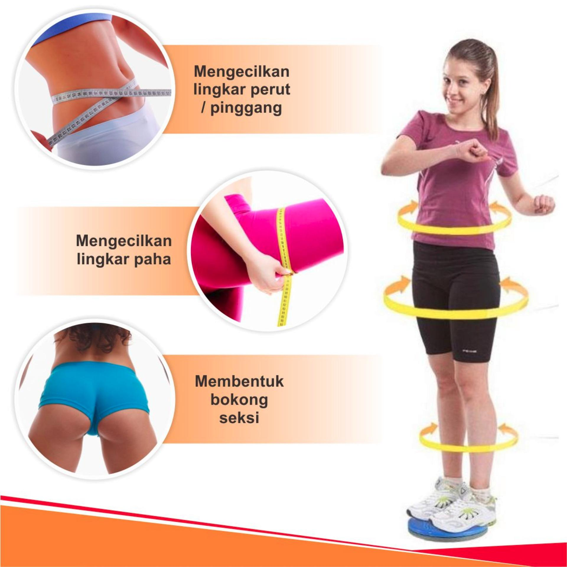 Weitech Peralatan Olahraga Pinggul Waist Twisting Alat Pelangsing Tubuh Pinggul Disc 1012 Lazada Indonesia