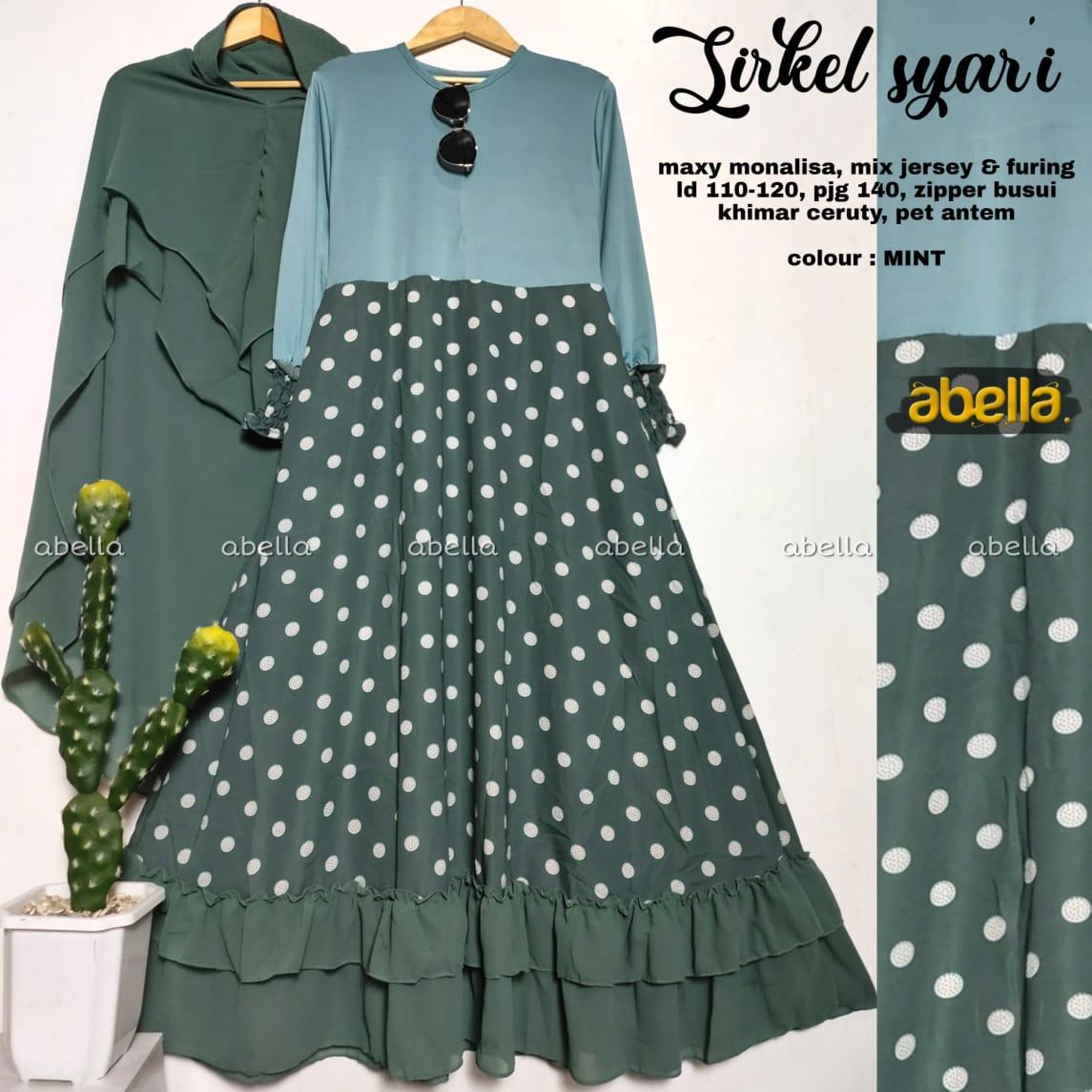 Sirkel Maxy Monalisa Mix Jersey Busui Model Gamis Terbaru 9 Untuk  RemajaModel Baju dress Panjang EleganDress Baju Muslim Wanita  TerbaruSketsa