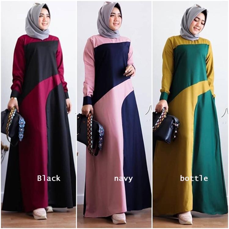 Fr0076 Baju Gamis Wanita Baju Gamis Wanita Terbaru 2021 Baju Gamis Waita Terbaru Murah Gamis Remaja Gamis Wanita Gamis Modern Gamis Syari Gamis Wanita