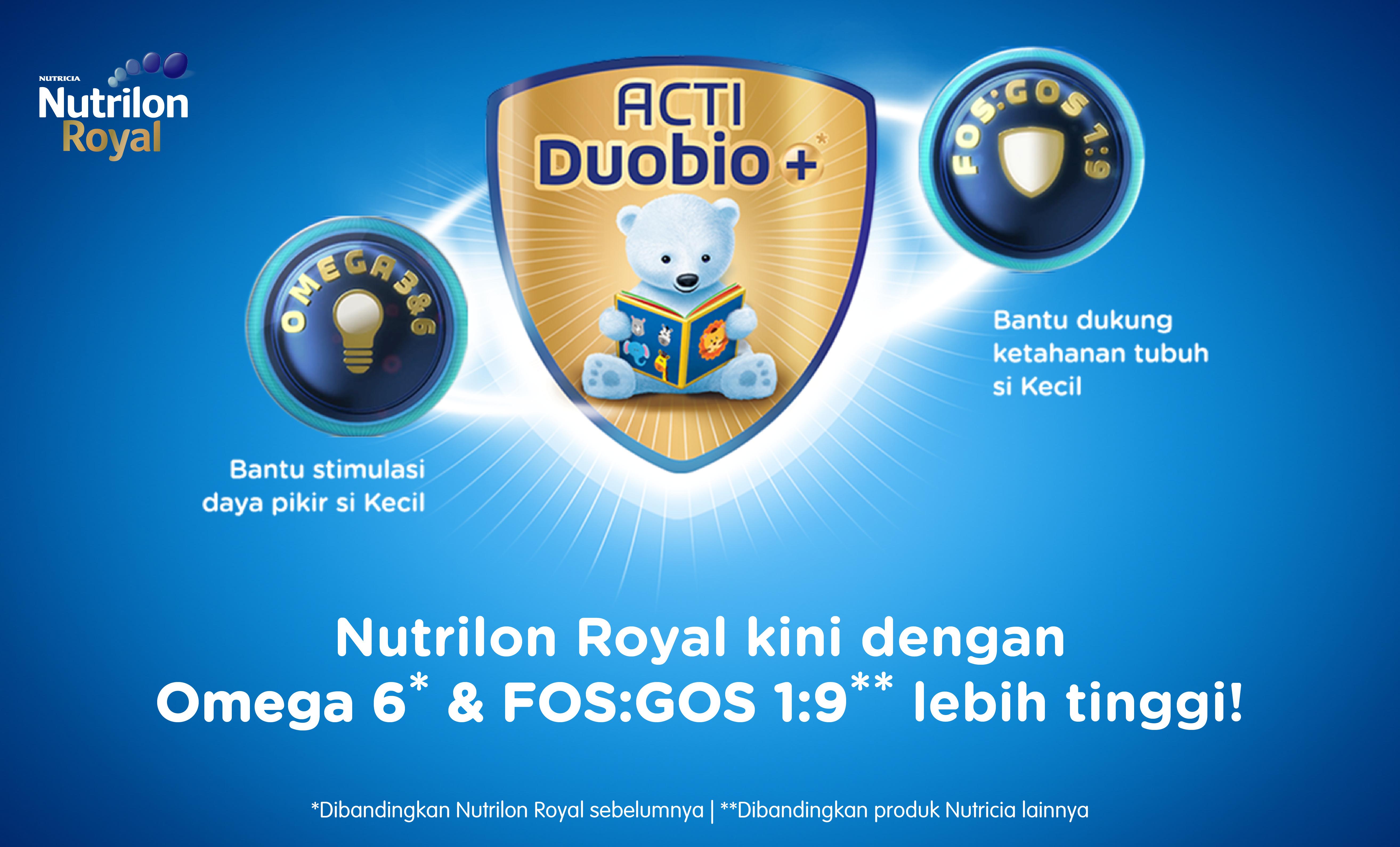 Detail produk dari Nutrilon Royal Actiduobio 3 Susu Pertumbuhan - Madu - 800gr