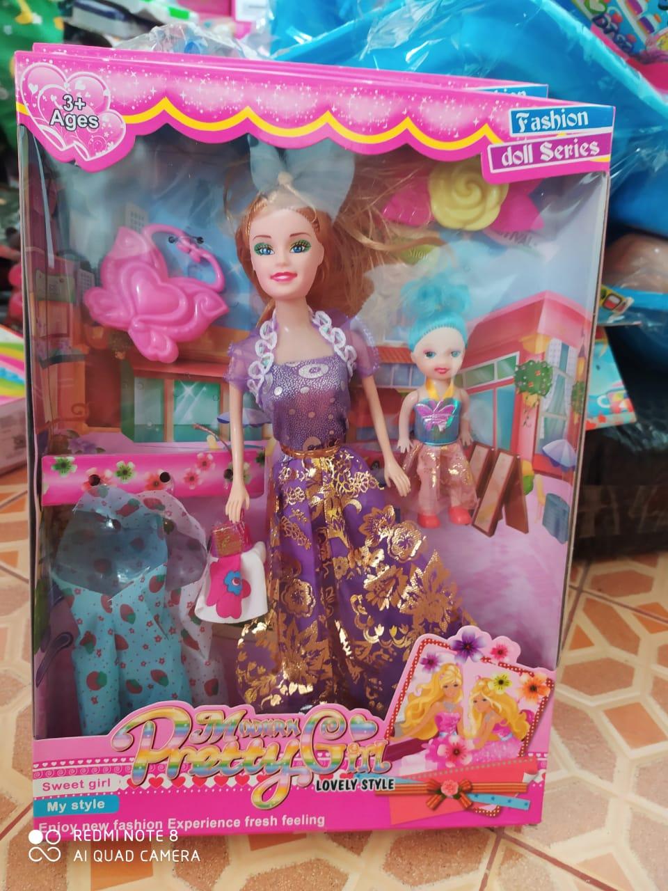 Free 2 Pcs Gantungan Kunci Mainan Anak Perempuan Boneka Barbie Modern Pretty Girl Lovelly Style Lazada Indonesia