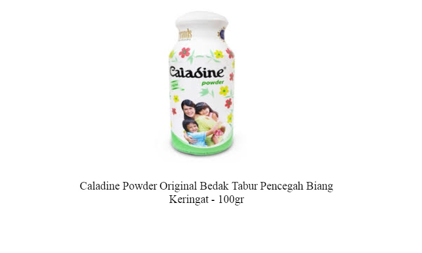 ... 11 Pcs Caladine Powder Soft Comfort 35 Gr