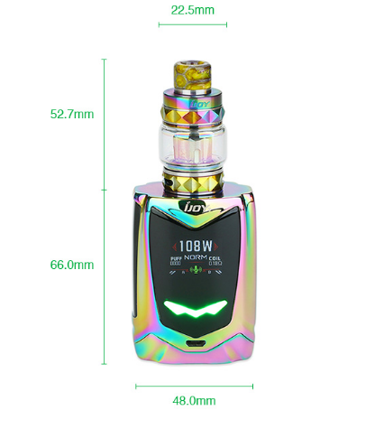Authentic Ijoy Avenger Baby Kit 108w Starter Kit Authentic Mod