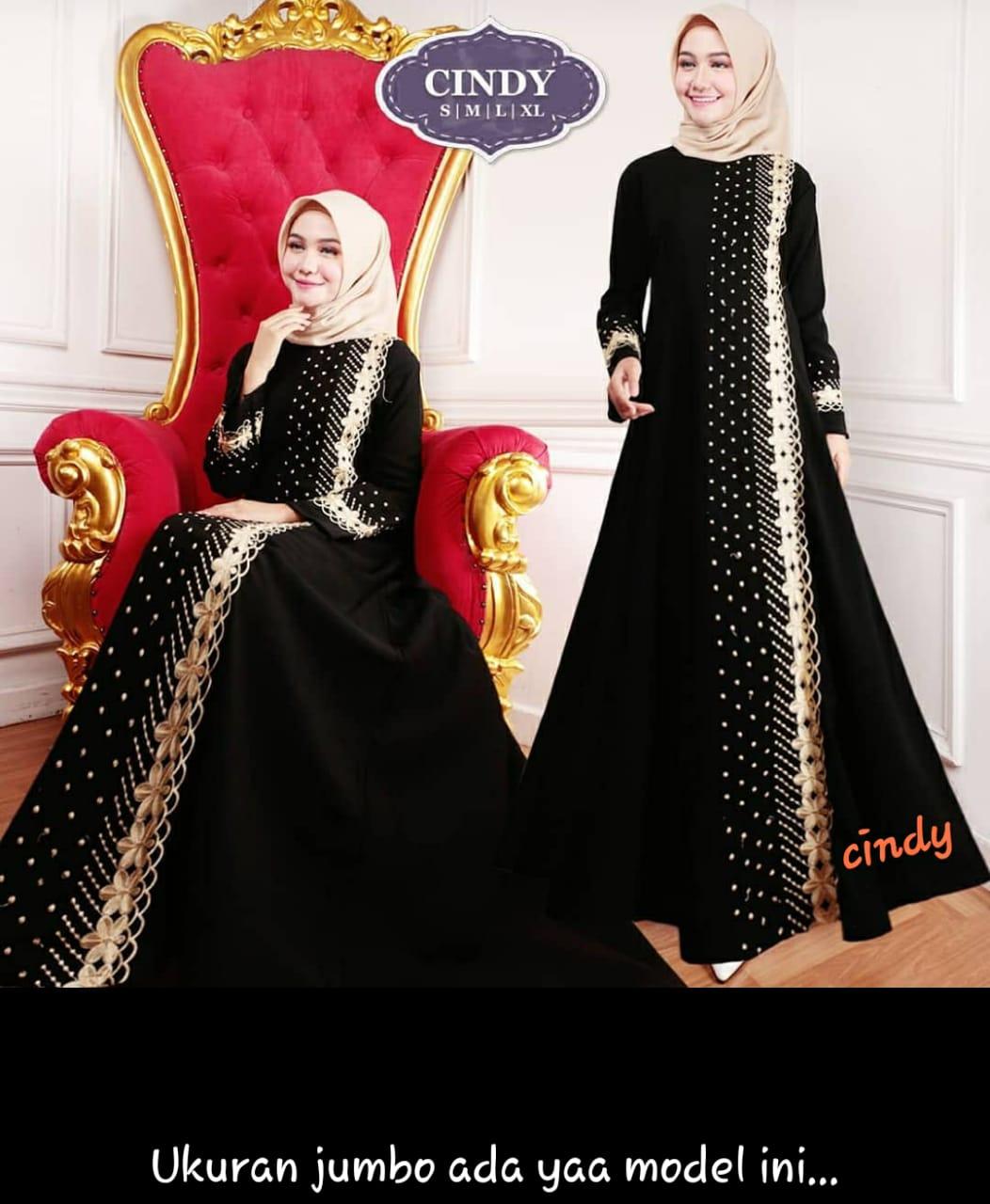 Gamis Abaya Arab Hitam Jumbo  Gamis Abaya Turkey Jumbo  Gamis Hitam   Gamis Bordir  Pakaian Wanita // Busana Muslim // Pakaian Muslim