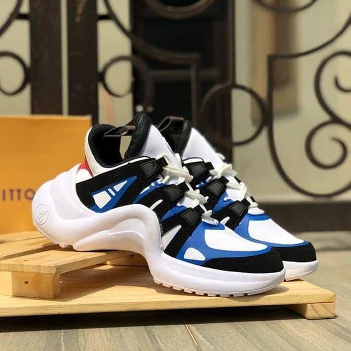 10691db85768 Spesifikasi dari Sepatu LV Louis Vuiton Archlight Sneaker White Monogram  Women   Sepatu Wanita   Sepatu Terlaris   Sepatu Limited   Sepatu Premium    Sepatu ...