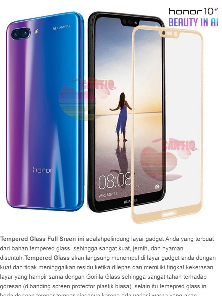 ... A2 Lite, Redmi 6 pro 5.84. Source · Tempered Glass Full Screen Gold Huawei Honor 10 9H Screen Anti Gores Kaca / Screen Protection