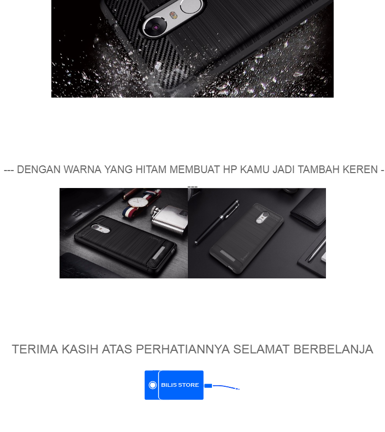 Jual Beli Case Ipaky Silikon Carbon Case Xiaomi Redmi Note 4 Xiaomi Redmi Note 4x Case