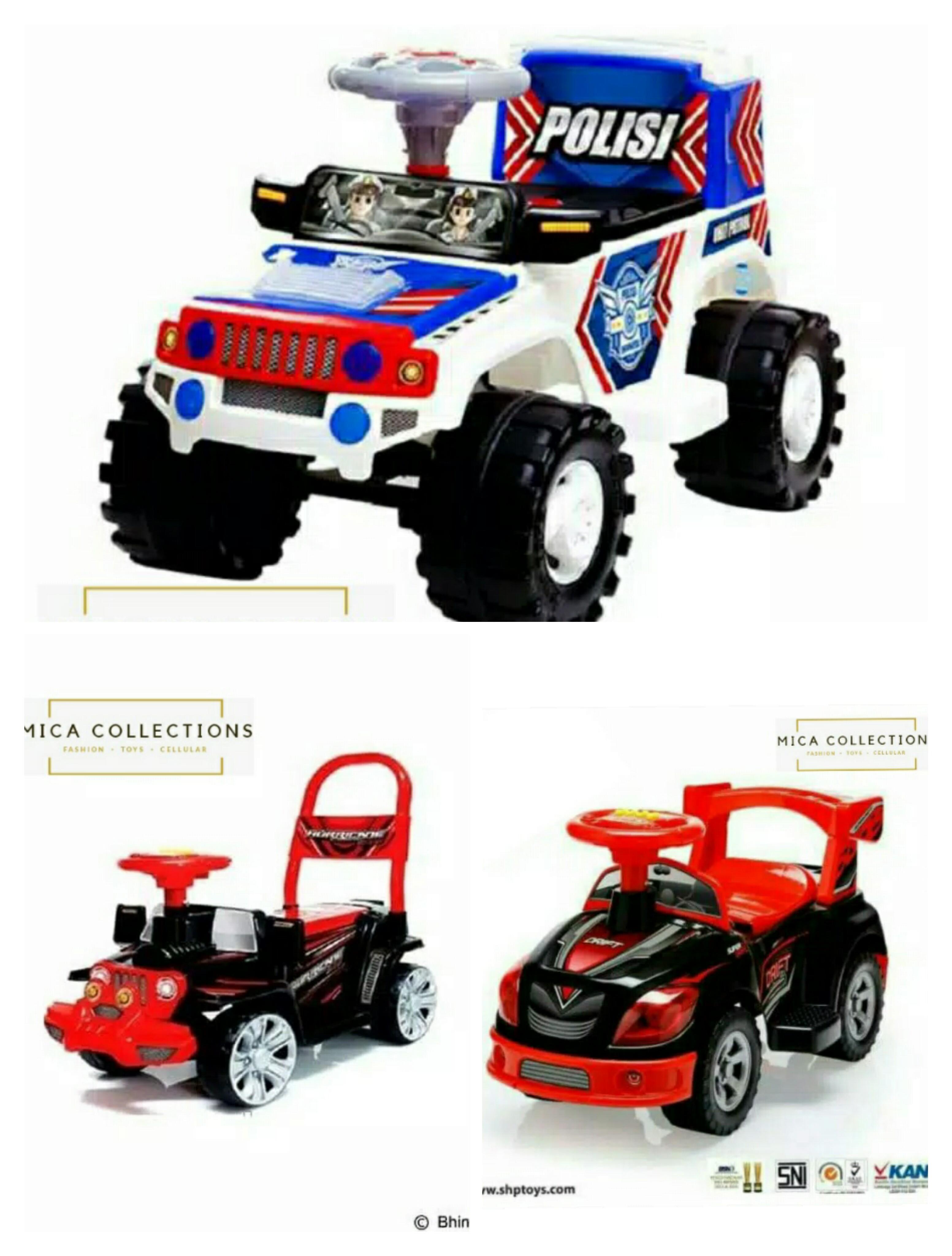 Mc Mobil Dorong Anak Shp Hj 634 Shp Polisi Jeep Sjr600 Shp Sd 606 Murah Lazada Indonesia