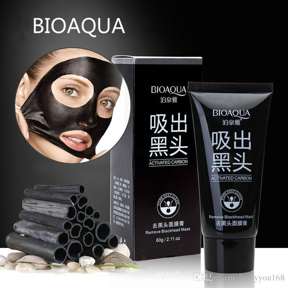 Spesifikasi dari Masker Bioaqua Black Cream Acne Pulling Mask Lumpur Wajah Muka