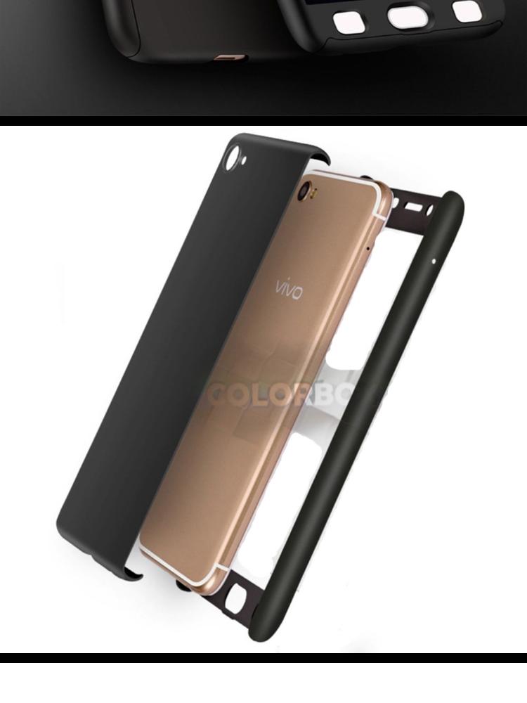 MR Case 360 Vivo Y66 / Case Vivo Y66 / Case Fullbody Depan Belakang Vivo Y66 / Silikon Vivo Y66 / Casing Baby Skin Vivo Y66 Soft Case 360 Full Body Vivo Y66 ...